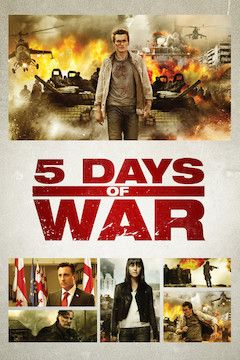 5 Days of War movie poster.
