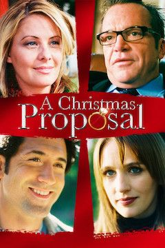 A Christmas Proposal movie poster.