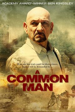 A Common Man movie poster.