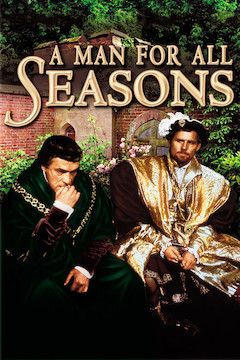 A Man for All Seasons movie poster.