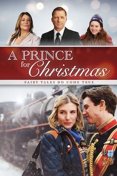 A Prince for Christmas movie poster.