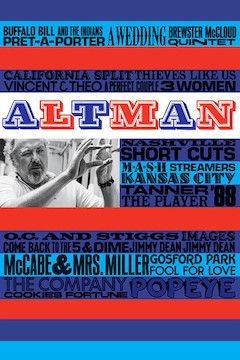 Poster for the movie Altman