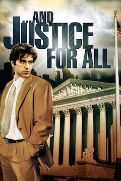 ... And Justice for All movie poster.