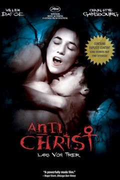 Antichrist movie poster.