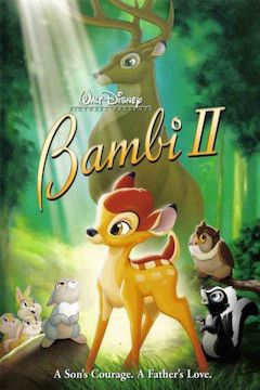 Bambi II movie poster.
