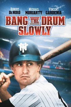Bang the Drum Slowly movie poster.