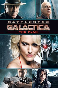 Battlestar Galactica: The Plan movie poster.