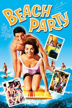 Beach Party movie poster.