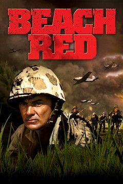 Beach Red movie poster.