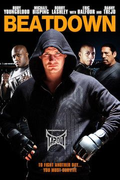 Beatdown movie poster.
