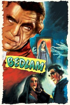 Poster for the movie Bedlam