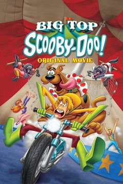 Big Top Scooby-Doo! movie poster.