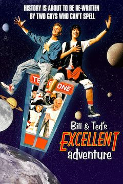 Bill and Ted's Excellent Adventure movie poster.