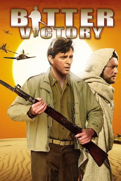 Bitter Victory movie poster.