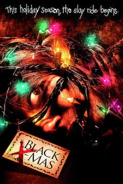 Black Christmas movie poster.