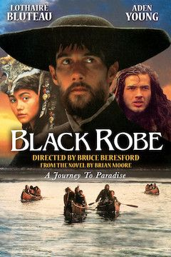 Black Robe movie poster.