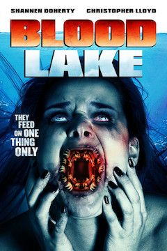 Poster for the movie Blood Lake: Attack of the Killer Lampreys