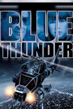 Blue Thunder movie poster.