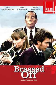 Brassed Off movie poster.