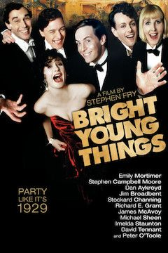 Bright Young Things movie poster.