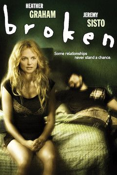 Broken movie poster.