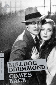Bulldog Drummond Comes Back movie poster.