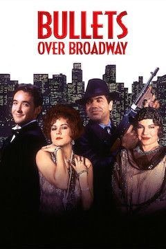 Bullets Over Broadway movie poster.