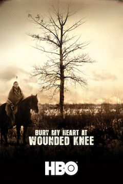 Poster for the movie Bury My Heart at Wounded Knee
