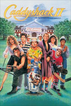 Caddyshack II movie poster.
