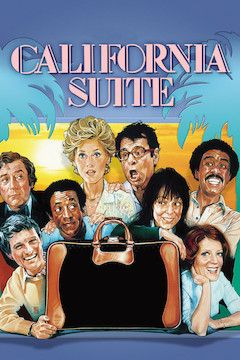 California Suite movie poster.