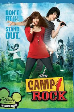 Camp Rock movie poster.