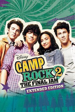 Camp Rock 2: The Final Jam movie poster.