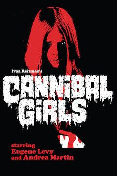 Cannibal Girls movie poster.
