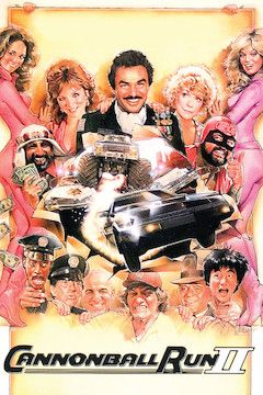 Cannonball Run II movie poster.