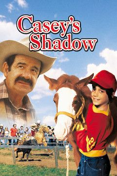 Casey's Shadow movie poster.