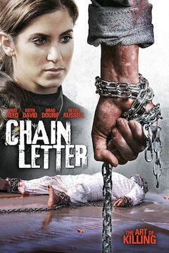 Chain Letter movie poster.