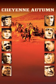 Cheyenne Autumn movie poster.