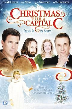 Christmas With a Capital C movie poster.