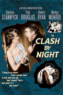 Poster for the movie Clash by Night