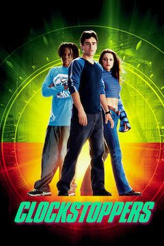 Clockstoppers movie poster.