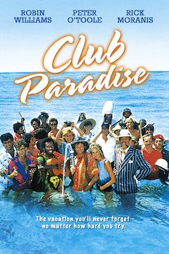 Poster for the movie Club Paradise