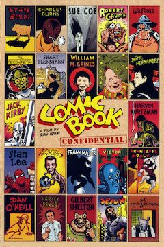 Comic Book Confidential movie poster.