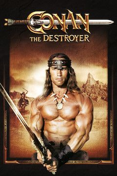 Conan the Destroyer movie poster.