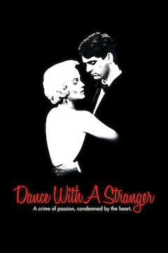 Dance With a Stranger movie poster.