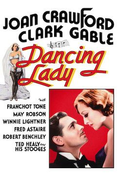 Dancing Lady movie poster.