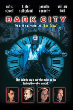 Dark City movie poster.