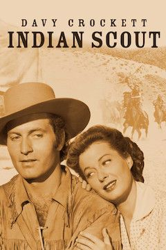 Davy Crockett, Indian Scout movie poster.
