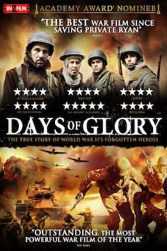 Days of Glory movie poster.