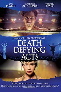 Death Defying Acts movie poster.