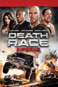 Death Race: Inferno movie poster.